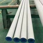 Bevelled Stainless Steel Pipe, SCH 10S, 6M