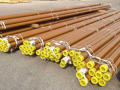 Dual Layer FBE Coated Pipe