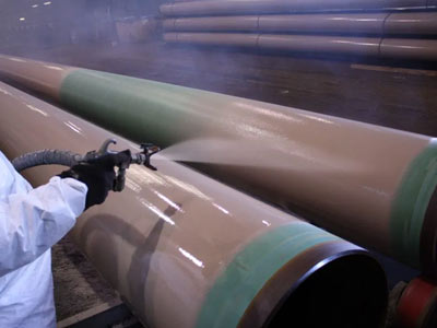 Dual Layer FBE Pipe Coating
