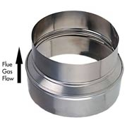 stainless steel flue pipe reducer
