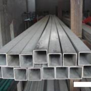 Stainless Steel UNS S34700 Square Pipe